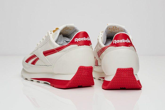 Reebok Aztec Leather White Red 1
