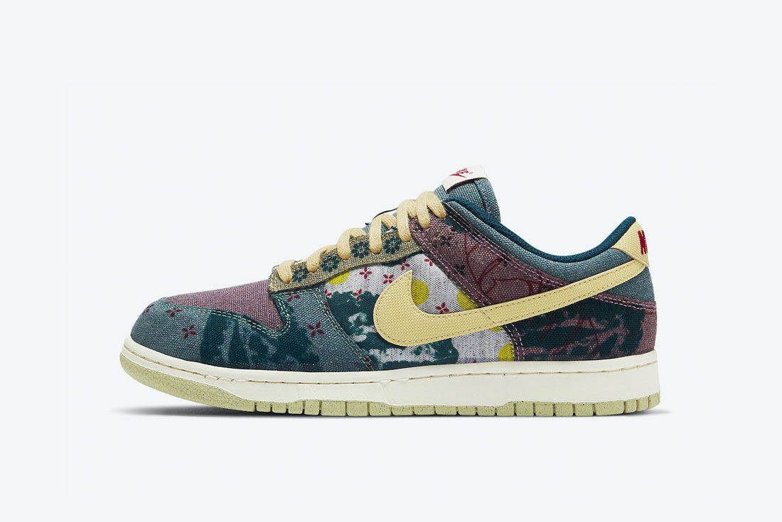 Nike Dunk Low Community Garden Lemon Wash