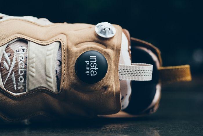 Reebok Pump Fury Tweed Brown Camo Sneaker Politics 2
