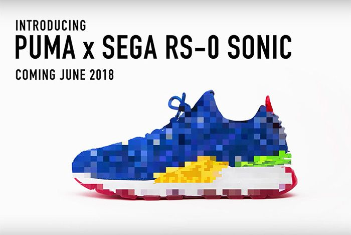Sonic The Hedgehog Puma 2