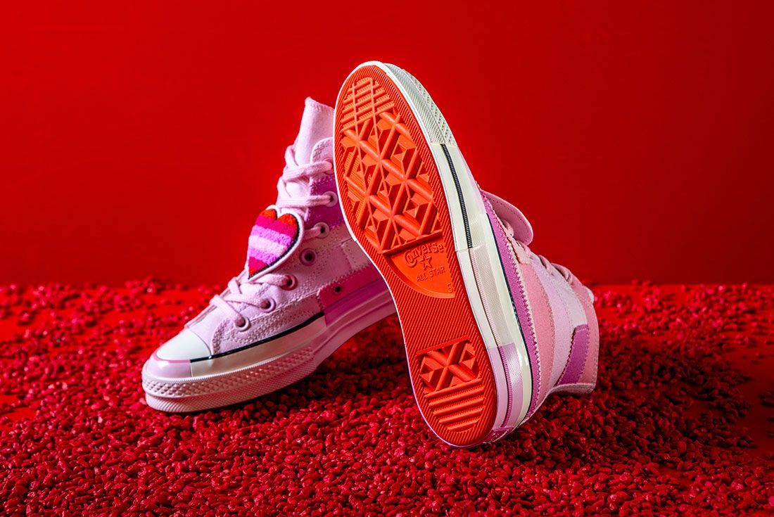 Converse X Millie Bobby Brown Collection Sneaker Freaker Pink Chuck 703