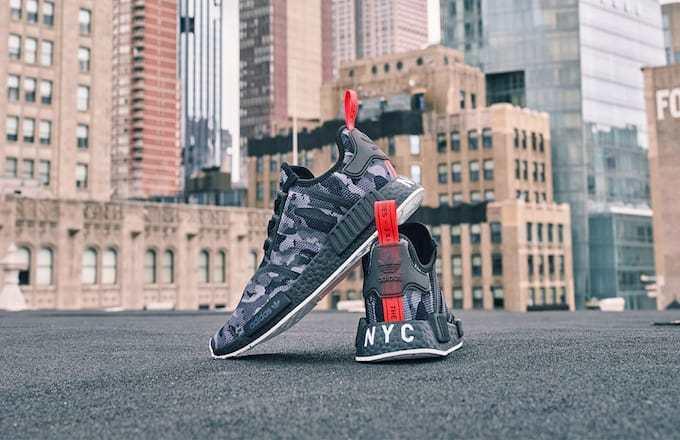 Adidas Nmd Print Series Lead Sneaker Freaker