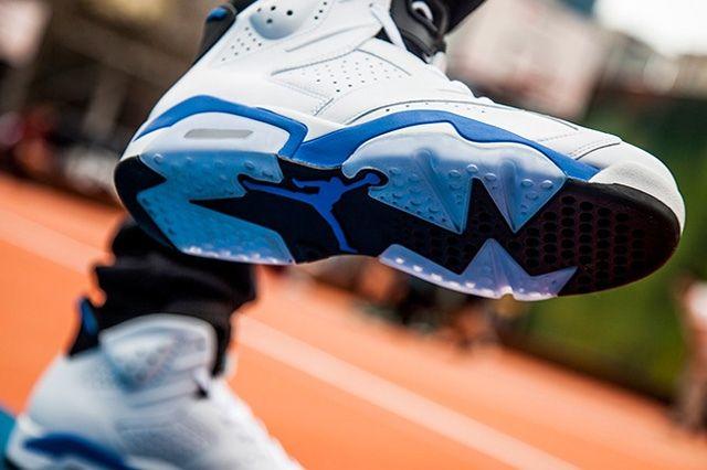 Aj6 Fl Sport Blue Bump 5