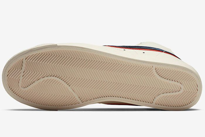 Nike Blazer Mid 77 Vintage City Pride Cd9318 100 Release Date 1 Sole