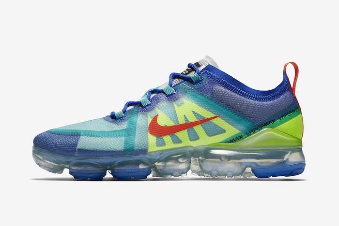 Nike Air Vapormax 2019 Multicolour Lateral