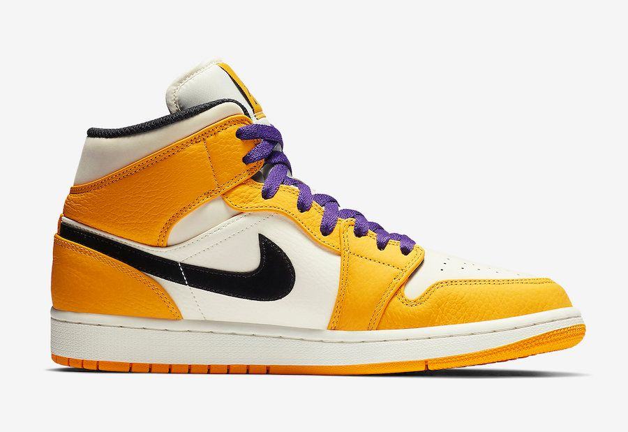 Air Jordan 1 Lakers 2