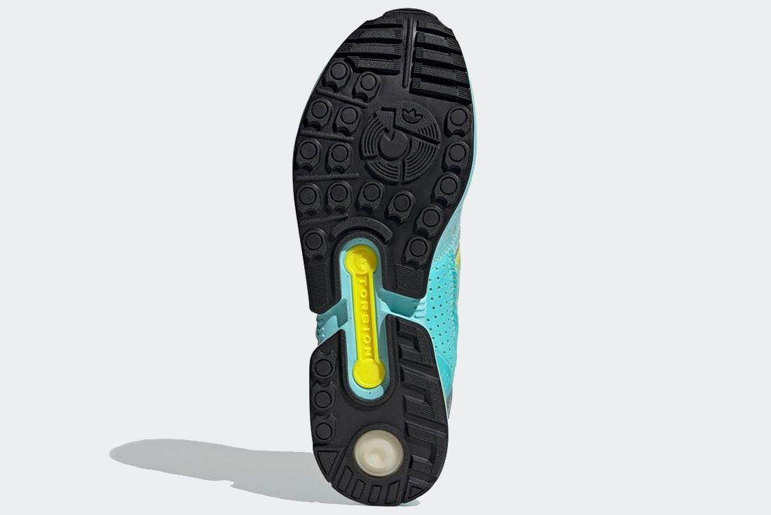 adidas 'XZ 0006' 'Aqua' on white