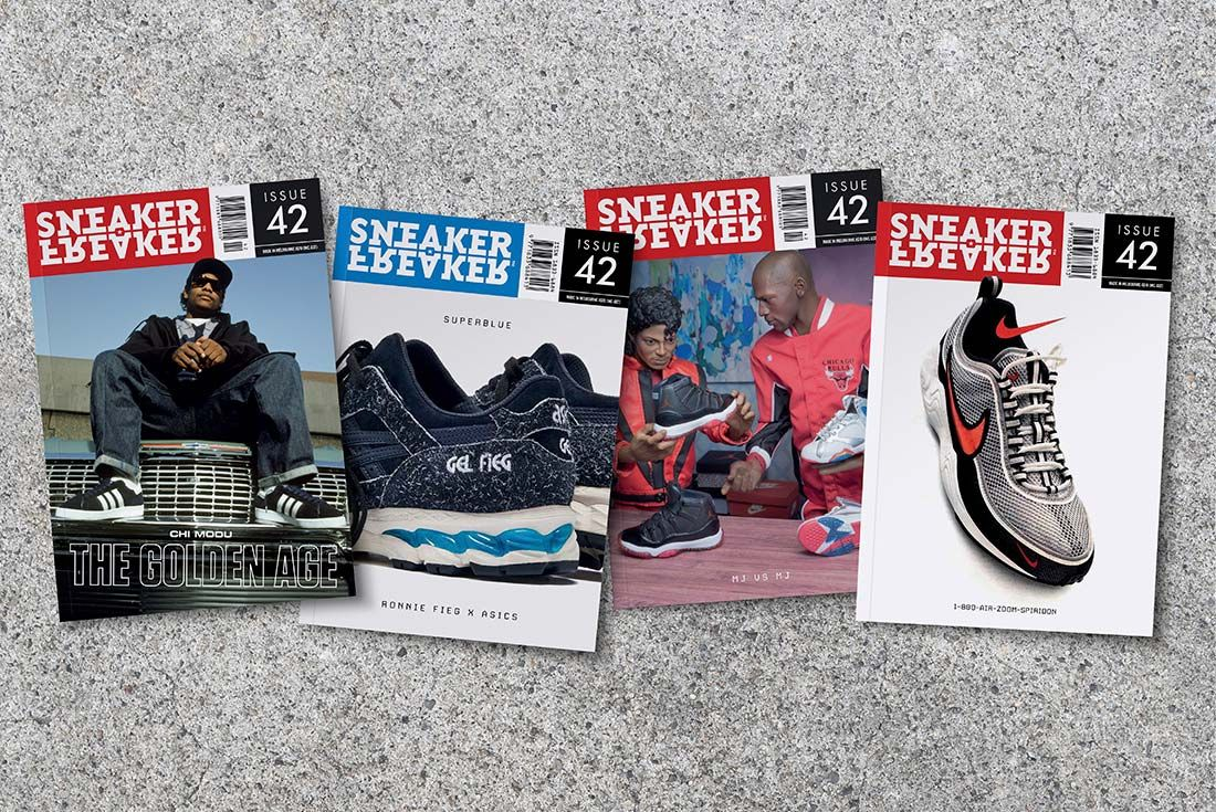 Sneaker Freaker Issue 42 Spread