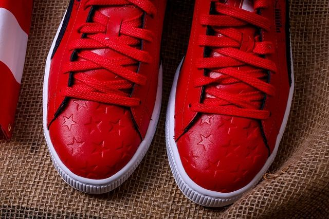 Puma Basket Independence Day Pack Red 1