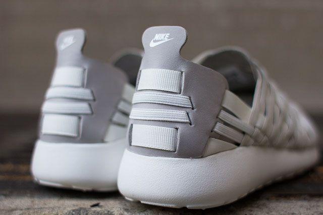 Nike Roshe Woven Beige Heel
