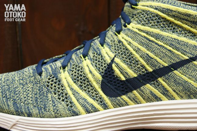 Nike Lunar Flyknit Chukka Electric Yellow 5 1