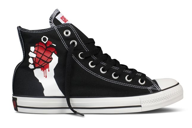 Converse Chuck Taylor All Star Green Day American Idiot 1