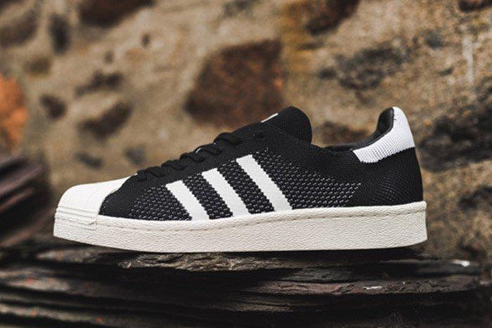 Adidas Superstar Boost Primeknit Black Thumb