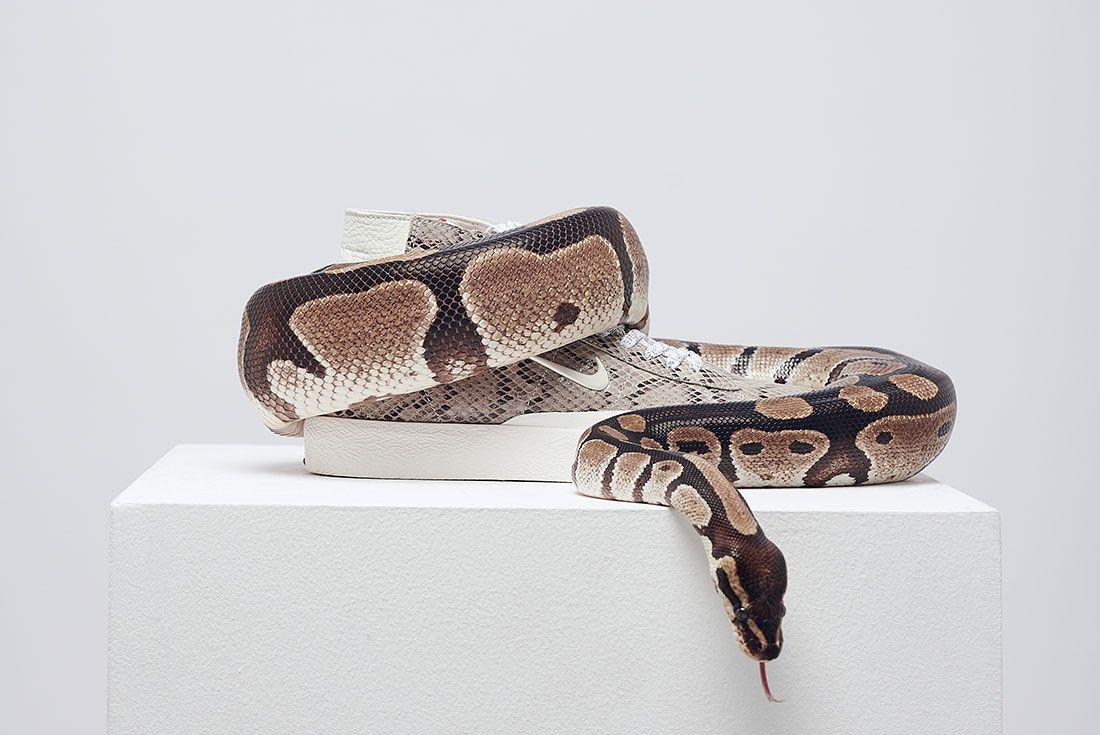 Soulland Nike Sb Blazer Snake Snakeskin Right 2