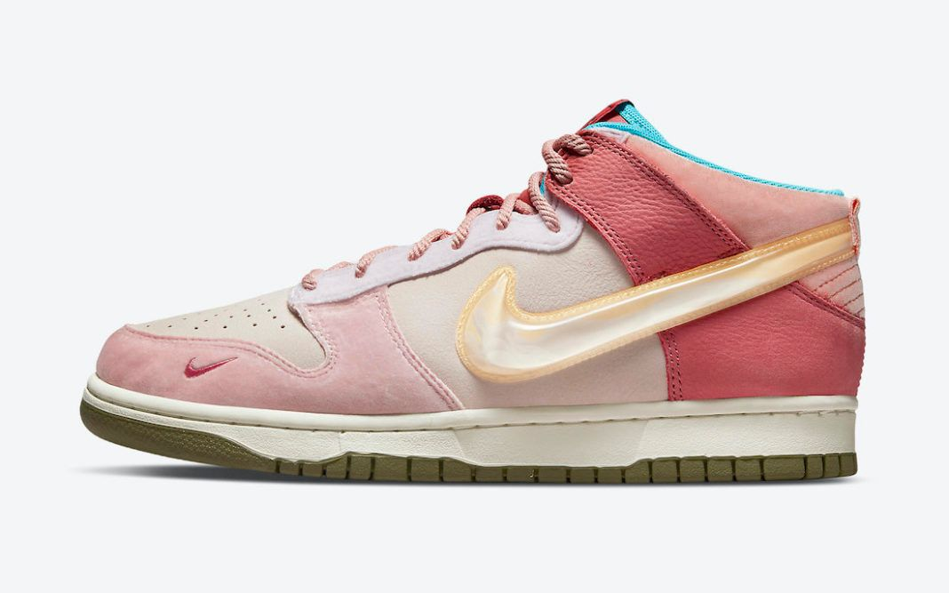 Social Status Nike Dunk Mid Pink Glaze DJ1173 600 Release Date 1068x667