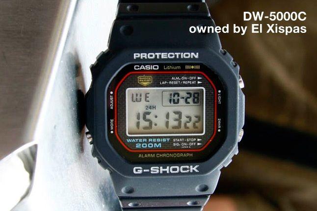 Sjors G Shock 11 2