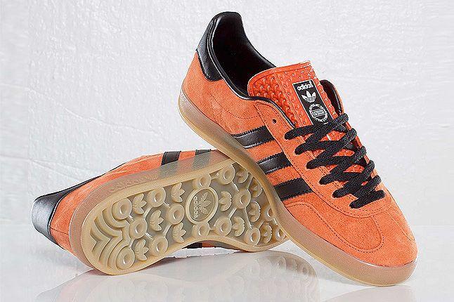 Orange Adidas Gazelle Indoor Pair 1