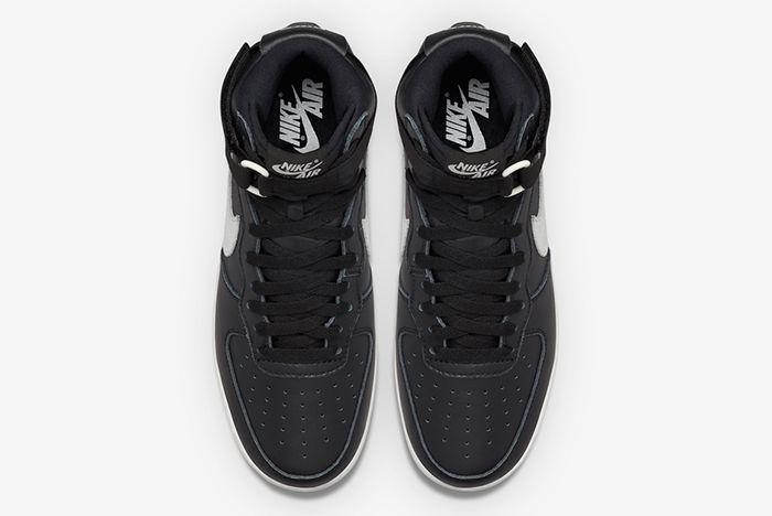 Nike Air Force 1 High Qs Blackwhite4
