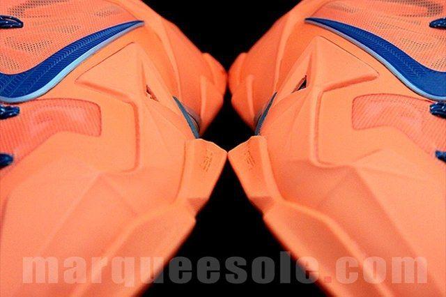 Nike Le Bron 11 Orange