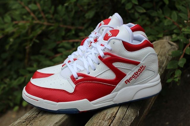 Reebok Pump Omni Lite White Red 1
