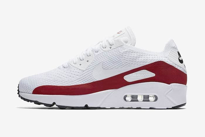 Nike Air Max Ultra 2 0 Flyknit Whitered 7
