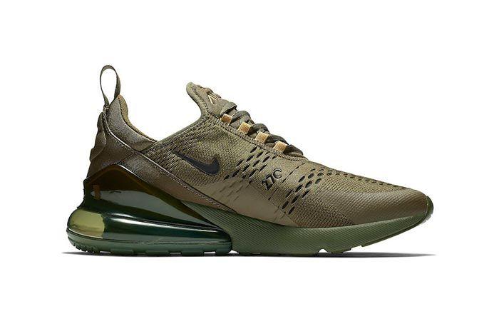 Nike Air Max 270 Triple Olive 2