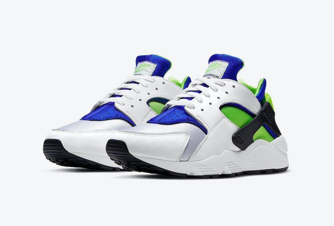 Nike Air Huarache 'Scream Green'