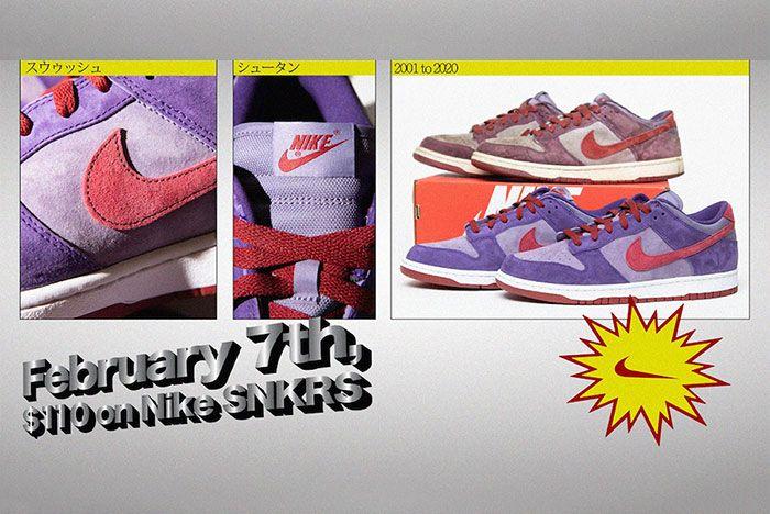 Nike Dunk Low Plum 2020 Retro Original