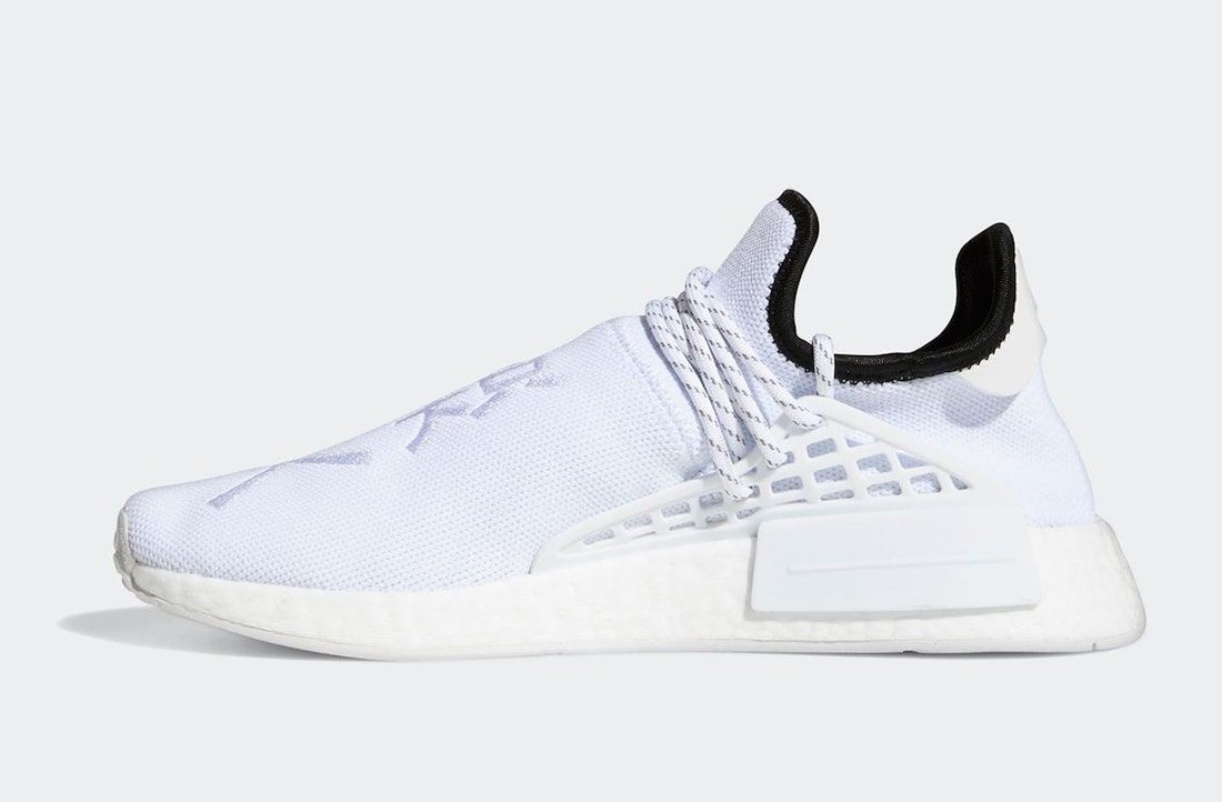 Pharrell x adidas Hu NMD Core White