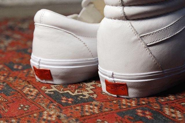 Vans Vault All White Basics Pack 1