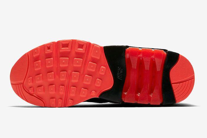 Nike Air Max 180 Black Team Orange University Red Av3734 001 Release Date 1 Sneaker Freaker