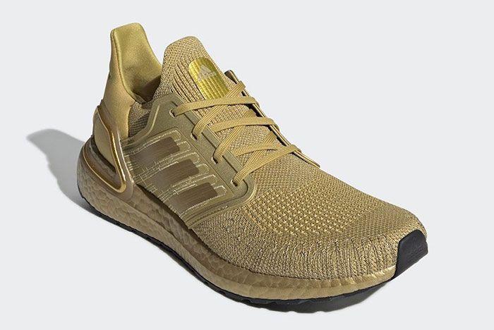 Adidas Ultra Boost 2020 Metallic Gold Eg1343 Release Date 2 Official
