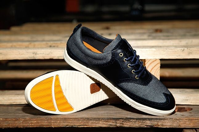 Clae Powell Navy Denim Promo 1