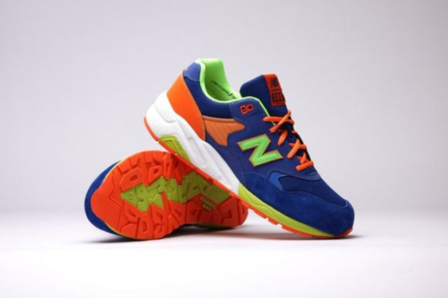 New Balance Mrt580 Bm Grey Turquoise Apple Pink 6