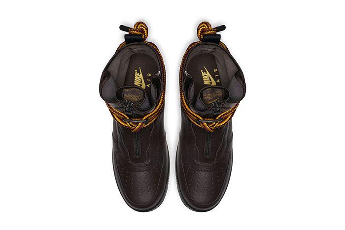 Nike Sf Af1 High Baroque Brown 4