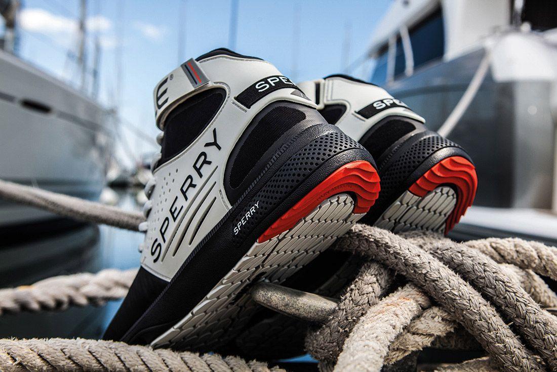 Sperry 7 Seaspro Grey Heel2