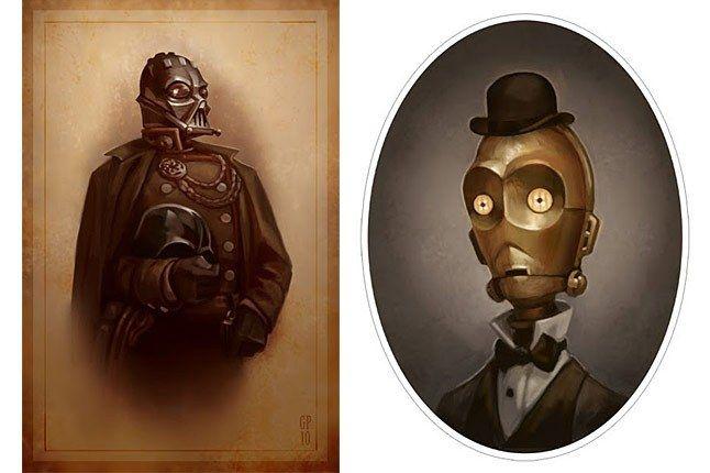 Star Wars Portraits By Greg Peltz 1 1