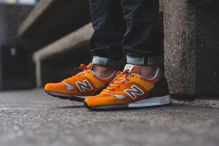 New Balance 577 Orange 3