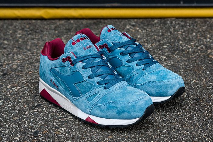 Diadora S8000 Made In Italy Ensign Blue 6
