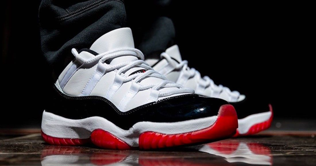 The Air Jordan 11 Low Is Fresh In White Bred Sneaker Freaker