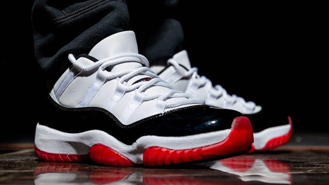 The Air Jordan 11 Low Is Fresh In White Bred Sneaker Freaker