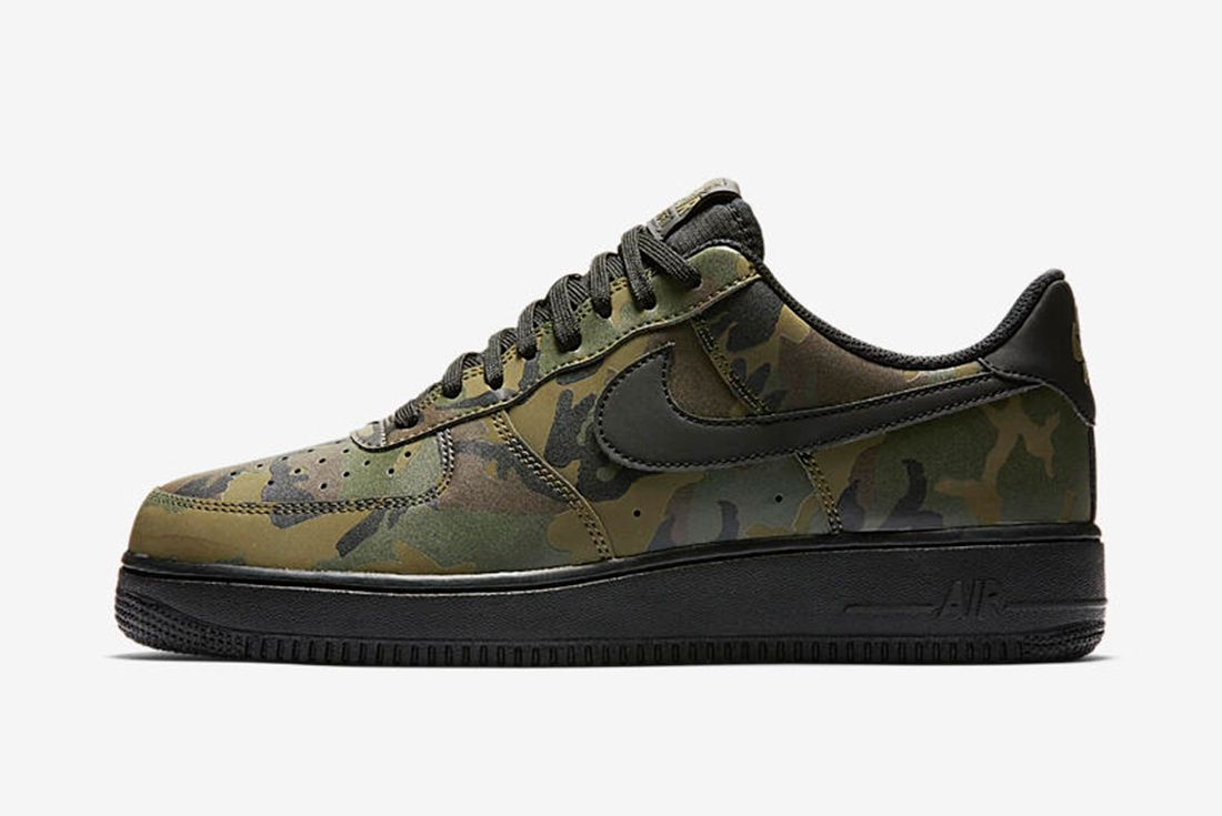 Nike Air Force 1 Camo Reflective 1 1