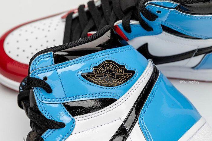 Air Jordan 1 Fearless Ck5666 100 Release Date Pricing 4 Close Up