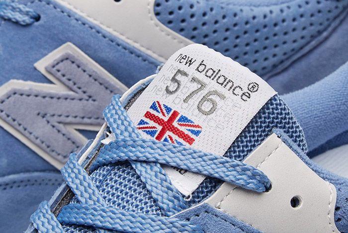 New Balance 576 Womens Blue 4