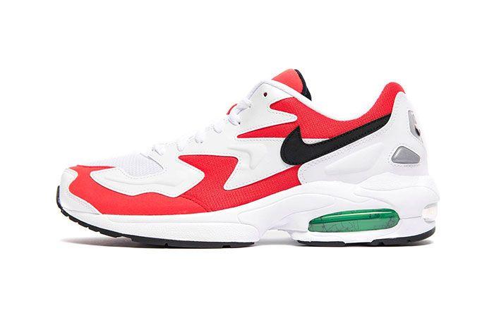 Nike Air Max 2 Light Habanero Red Side Shot 1