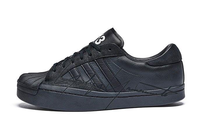 Adidas Y3 Yohji Star Side Black