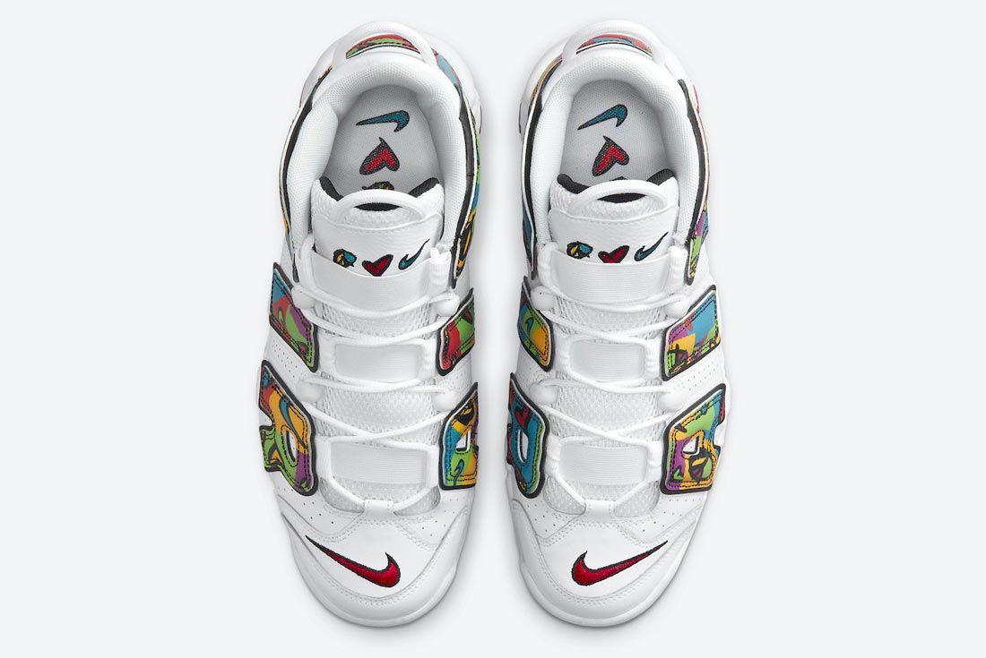 Nike Air More Uptempo 'Peace, Love, Swoosh'