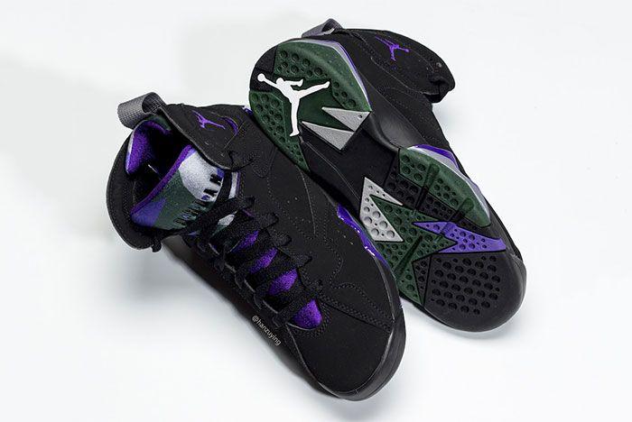 Air Jordan 7 Ray Allen Bucks Leaked 4