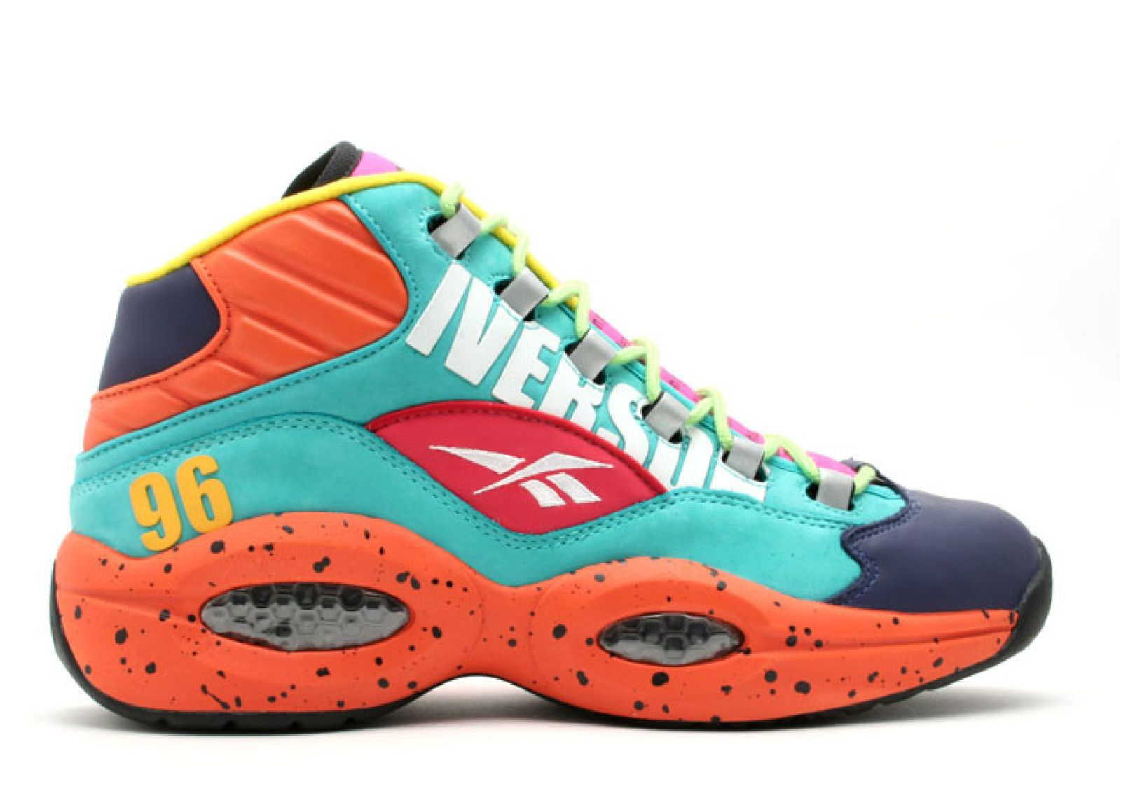 Reebok Question Mid Undefeated Undefeated Inverson 1