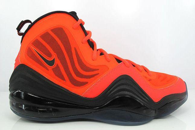 Nike Air Penny V Crimson Black Side Profile 1